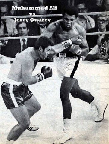 Muhammad Ali returns to boxing to defeat Jerry Quarry