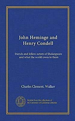 John Heminge and Henry Condell