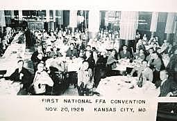 FFA is established in Kansas City, MO