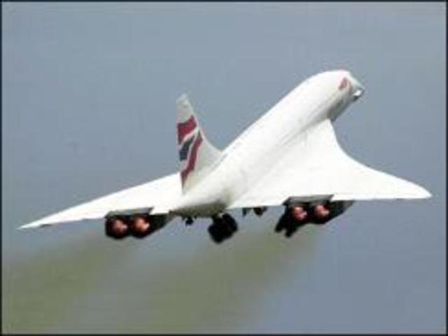 Concorde sets speed record which still stands