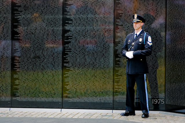 Vietnam Memorial in Washington, DC Dedicated