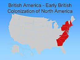 Britain colonizes America