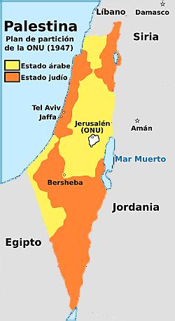 Plan de las Naciones Unidas para la partición de Palestina
