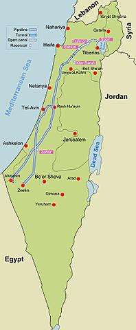 Acueducto Nacional de Israel 1964-1967