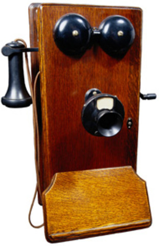 Alexander Graham Bell invents the telephone.