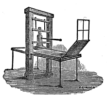 Printed Press was invented