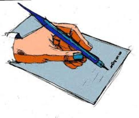 When wrote