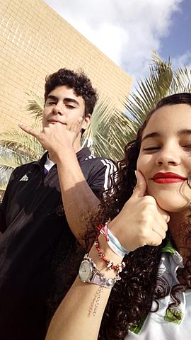 Yo y Fernanda