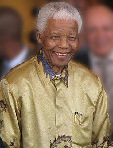 Nelson Mandela the President.