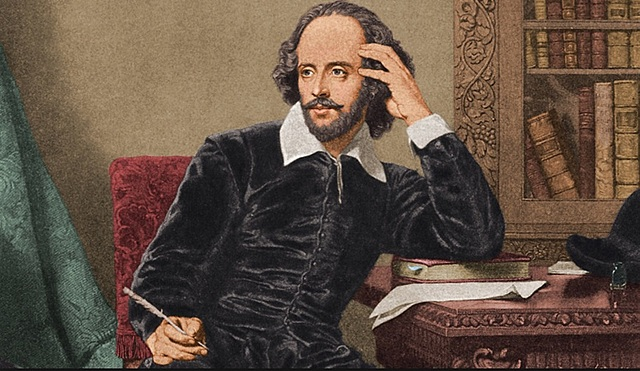 Thirty-six works by Shakespeare