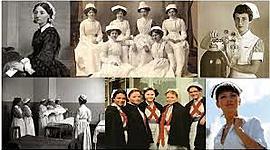 Evolución de la enfermería a través de el tiempo timeline