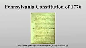 Pennsylvania Constitution