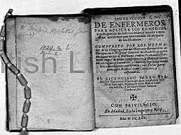El primer manual conocido de la enfermería