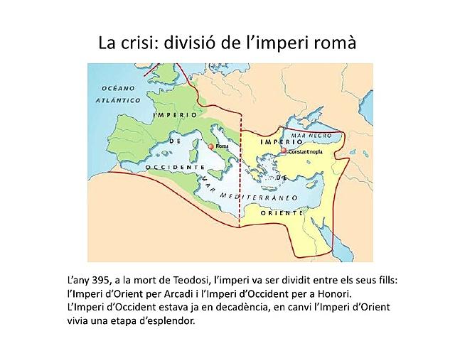 Divisió de l'Imperi romà