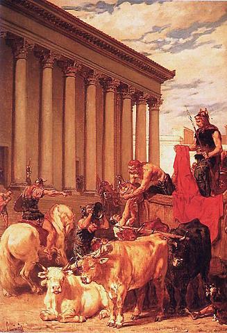 Alaric saqueja roma