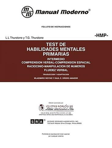 Thurstone publica la Prueba de Habilidades Mentales Primarias.