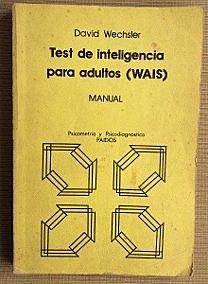 Wechsler presenta la primera edición de su prueba de inteligencia para adultos (WAIS)