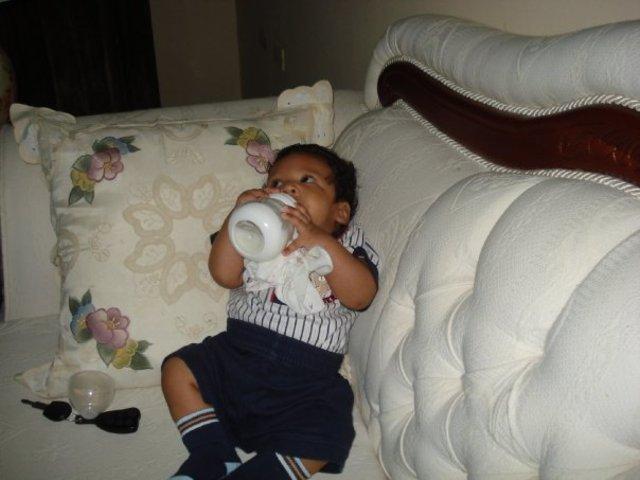 When my cousing Javier Andrés was born