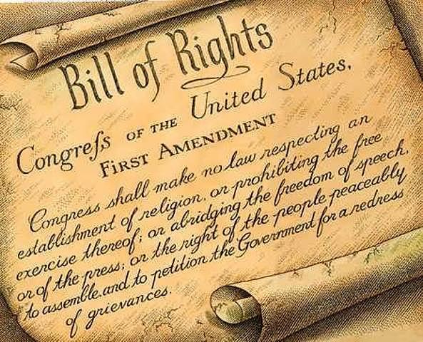 La Carta de Derechos (Bill of Rights, Inglaterra).