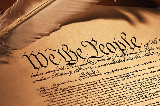 Constitución de los Estados Unidos.