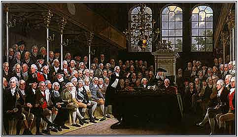 Prohibición de la trata de esclavos por el Parlamento británico
