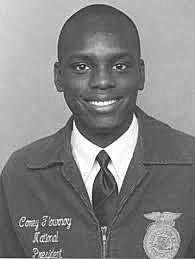 First African-American to be elected national FFA president.