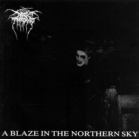 Album 'A Blaze In the Northern Sky' par 'Darkrthrone'