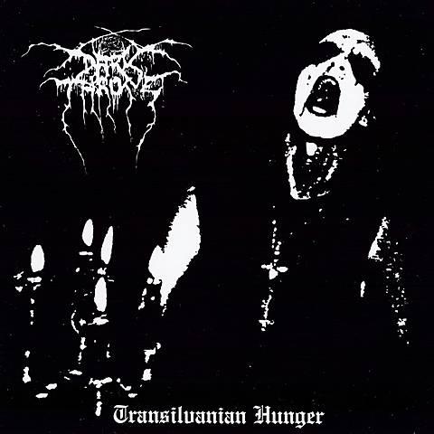 Album 'Transilvanian Hunger' par 'Darkthrone'