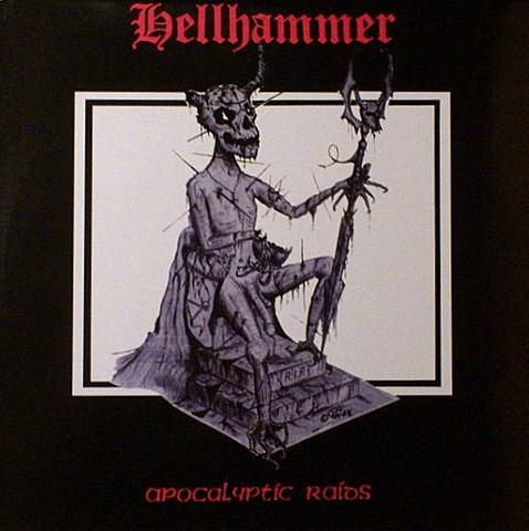 Album 'Apocalyptic Raids' par 'Hellhammer'