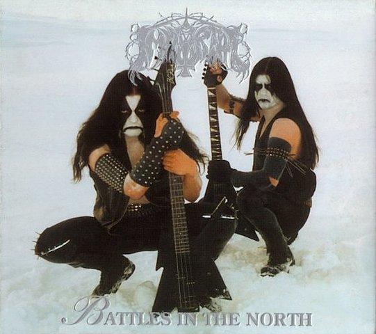 Album 'Battles in the North' de 'Immortal'