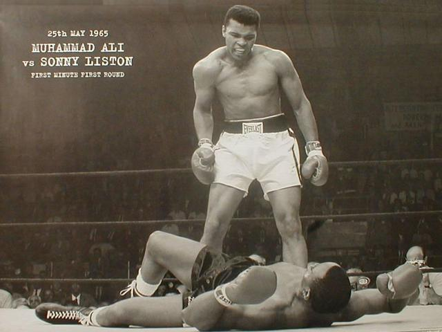 Muhammed Ali the heavyweight champion and changes his name.