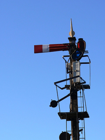 Mechanical semaphore is invented in France.