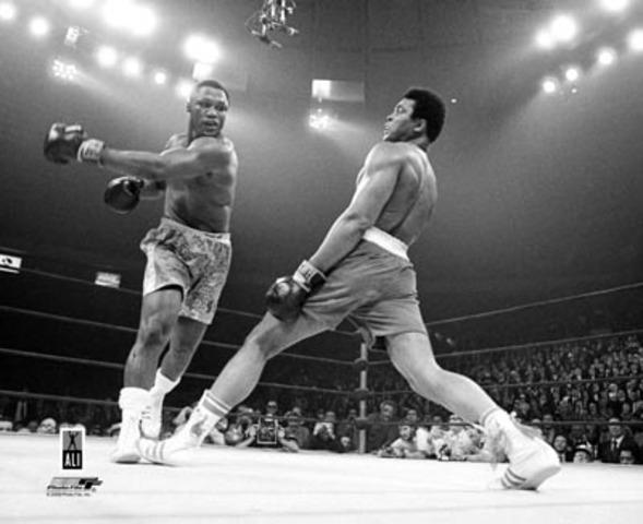Ali's revenge!
