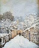 Nieve en Louveciennes