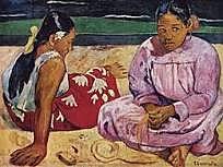 Mujeres de Tahití