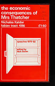 The Economic Consequences of Mrs Thatcher.
