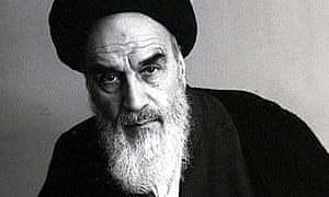 Ayatollah Khomeini .