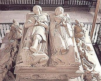 Sepulcro de don Felipe y doña Juana