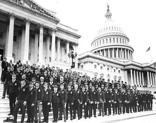 The Washington Conference (now Washington Leadership Conference — WLC) begins.