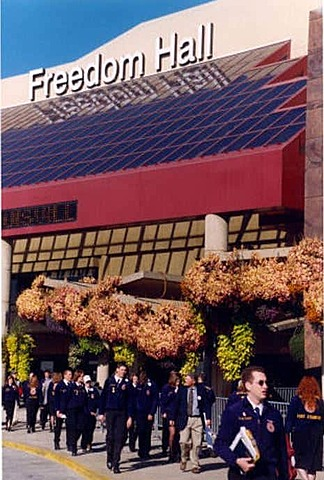 The National FFA Convention is held in Louisville, Ky.