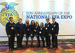 2006- The 79th National FFA Convention is held in Indianapolis for the first time