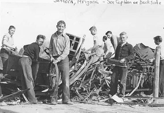 1942 - FFA Members Join in The War Effort