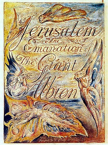 Jerusalem The Emanation of the Giant Albion