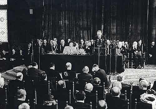 Aprobación de la Declaración Americana de los Derechos y Deberes del Hombre