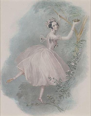 La Sylphide(The Sylph) Premiers at the Paris Opera