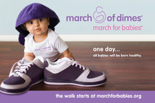 The First March of Dimes March for Babies