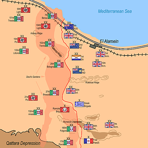Slaget vid el-Alamein