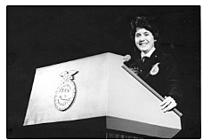 1982 - First Female National FFA President1982