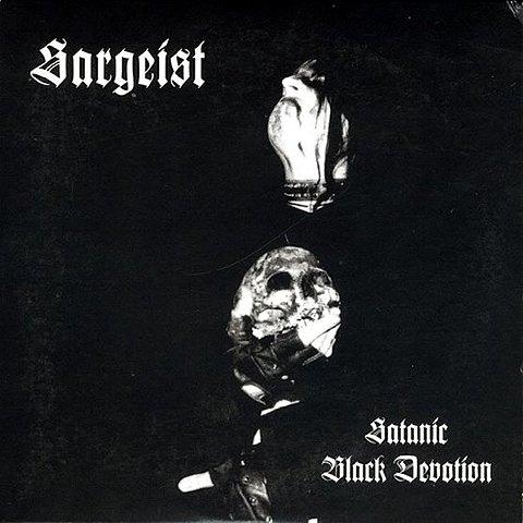Album 'Satanic Black Devotion' par Sargeist