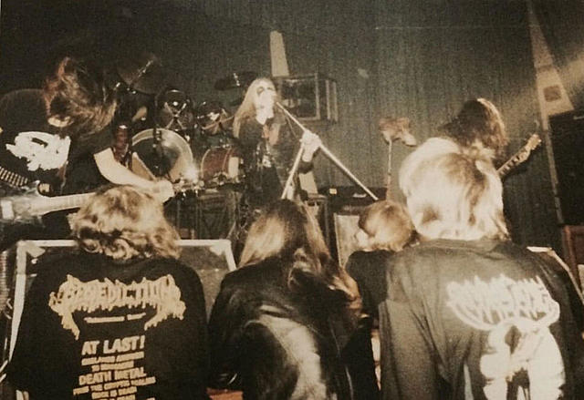 Live de Mayhem à Leipzig